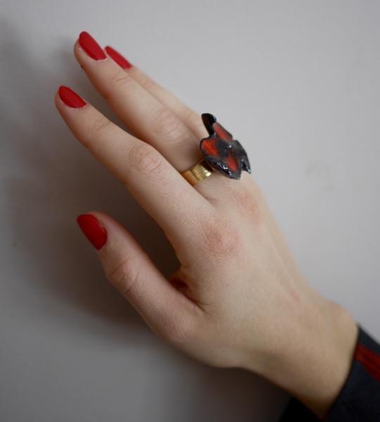 Bague papillon 1
