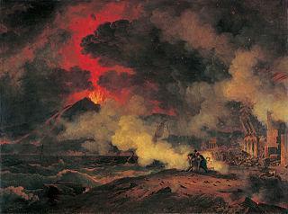 Pierre henri de valenciennes eruption du vesuve muse e des augustins toulouse 78 1 1